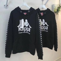 ONETOW KAPPA Women Fashion Long Sleeve Top Sweater Pullover