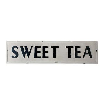 Vintage Sweet Tea Metal Sign