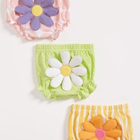 Infant Girl's Baby Aspen 'Bunch O' Bloomers' Diaper Covers (3-Pack)