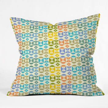 Andi Bird Focus Outdoor Throw Pillow