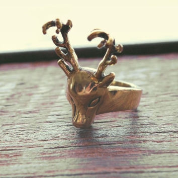 Ring- Smooth Deer Ring