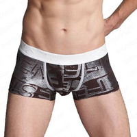 Men's Fashion Boxer Shorts Trunks Underwear pant Sleep free shipping