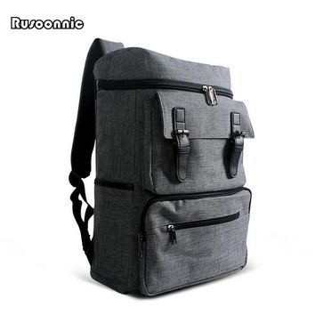British Style Men's Oxford Backpacks Bolsa Mochila for Laptop 14 Inch Notebook Women luggage Bags Backpack School Rucksack