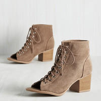 Fall into Lace Bootie | Mod Retro Vintage Boots | ModCloth.com