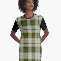 'BRITISH COLUMBIA DRESS TARTAN' Graphic T-Shirt Dress by IMPACTEES