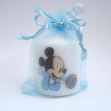 10 Customized Mickey Mouse party favors