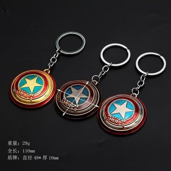 Marvel Superhero Figure Keychain Batman/Ironman/Superman/Trinket Avengers Key Chain Spiderman/pirate Key Ring Holder Gift Toys
