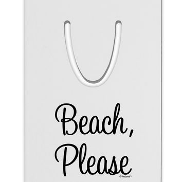 Beach Please Aluminum Paper Clip Bookmark
