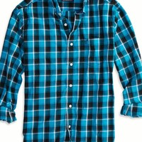 AEO Men's Factory Printed Button Down Shirt