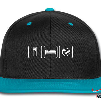 Eat Sleep Volleyball Snapback