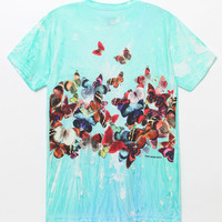HUF Butterfly Effect Tie-Dye T-Shirt at PacSun.com