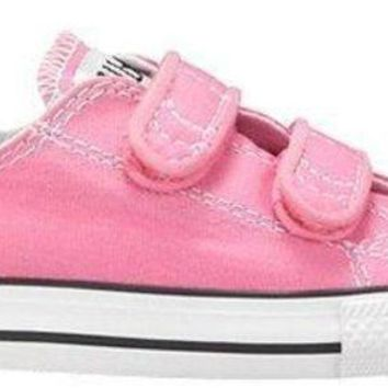 ICIKGQ8 converse girl s chuck taylor all star 2v infant toddler pink 7 m us toddler