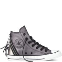 Converse - Chuck Taylor All Star Metallic Tri Zip - Black - Hi Top