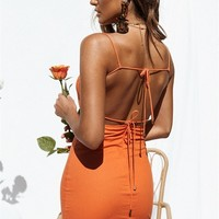 Backless Valencia Dress - Dresses by Sabo Skirt