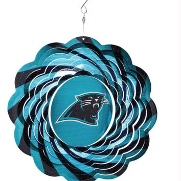Wind Spinner - Carolina Panthers