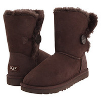 UGG Bailey Button Chocolate - Zappos.com Free Shipping BOTH Ways