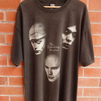 Vintage 90s SMASHING PUMPKINS Alternative rock concert tour grunge T-Shirt