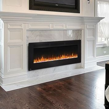 Napoleon Allure 60 NEFL60FH Wall Hanging or Recessed Electric Fireplace