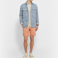 Faherty - Belmar Brushed-Cotton Overshirt