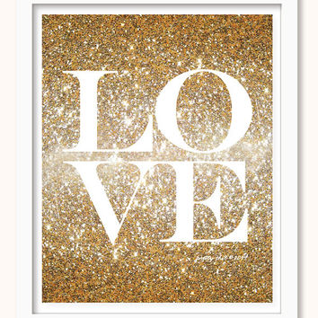 Glitter Wall Art best gold glitter wall art products on wanelo