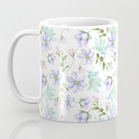 purple spring flowers Coffee Mug by sylviacookphotography