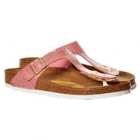 cbd962d69eb Birkenstock Gizeh Shiney Snake BirkoFlor -Standard Fitting Buckled Toe Post  Thong Style - Flip Flop