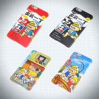 Vintage Nissin Ramen Boy iPhone Case from Ice Cream Cake