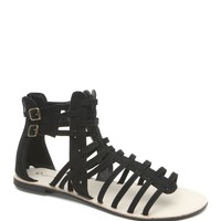 Qupid Athena Strap Gladiator Sandals - Womens Sandals -