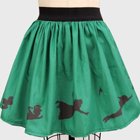 Neverland Inspired Border Full Skirt