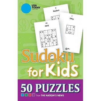 USA Today Sudoku for Kids: 50 Puzzles from the Nation's News