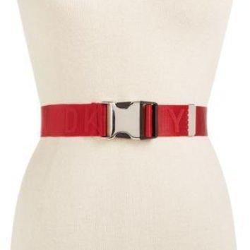 DKNY Non-Leather Belts, Seat Belt Buckle or Chain