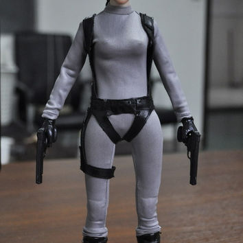 KUMIK 1/6 Scale Doll Model Angelina Jolie in Lara Croft: Tomb Raider,12""