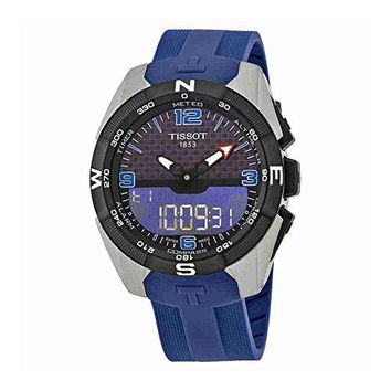 Tissot T-Touch Expert Mens Analog-Digital Rubber Watch T091.420.47.057.02