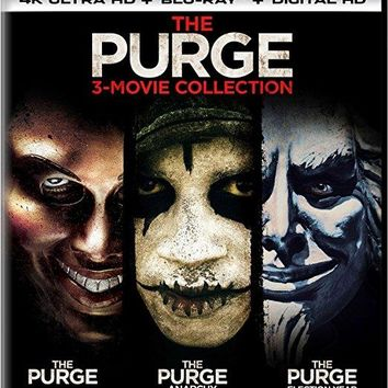 Ethan Hawke & Frank Grillo & James DeMonaco-The Purge: 3-Movie Collection