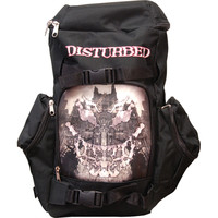 Disturbed Face Your Fear Backpack Black