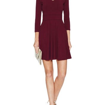 Pocket V-Neck Dress