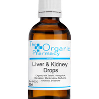 liver & kidney detox tincture | tinctures | health care | the organic pharmacy