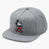 Vans Disney Collection Mickey Mouse Mens Snapback Hat Grey One Size For Men 25804211501