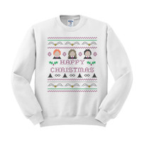 Harry Potter Happy Christmas Crewneck Sweatshirt