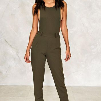Felicity Scoop Neck Jumpsuit | Shop Clothes at Nasty Gal!