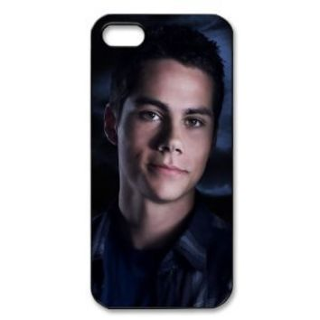 Custombox Dylan O' Brien Iphone 5 Case Plastic Hard Phone Case for Iphone 5-IPhone 5-DF01221
