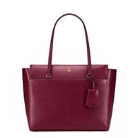 Tory Burch Parker Tote - Imperial Garnet / Midnight Swim