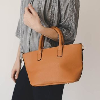 Satchel Purse - Brown