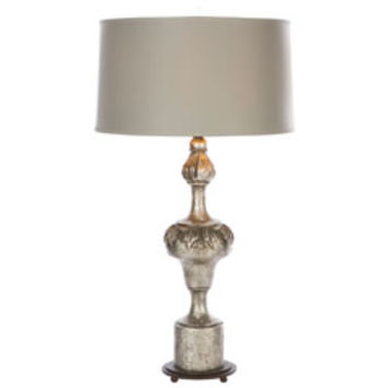 Aidan Gray Lighting Fergus Rustic Silver Table Lamp Set of 2