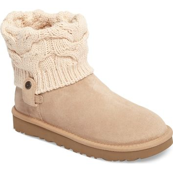 UGG® Saela Knit Cuff Boot (Women) | Nordstrom
