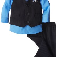 Nautica Baby-Boys Newborn Basic Striped Vest Set