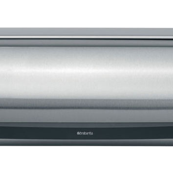 Brabantia Roll Top Bread Bin - Matt Steel