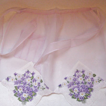 Sheer Hostess Lilac Apron, Use coupon code THINKSPRING to take $5 off your purchase of $30+