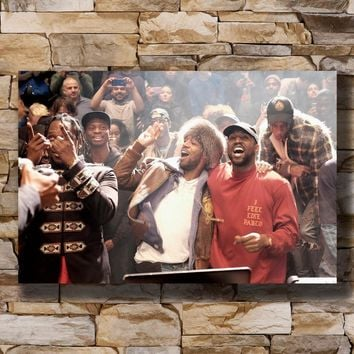 Kanye West The Life Of Pablo Rap HipHop Super Star Home Decoration Poster Wall Canvas Art 14x21 16x24 24x36inch Print G-580