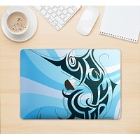 "The Vector Blue Abstract Fish Skin Kit for the 12"" Apple MacBook"
